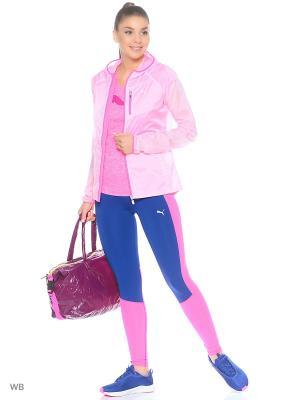 Ветровка Lite Jacket W Puma. Цвет: бледно-розовый