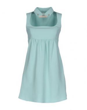 Короткое платье BETTY BLUE. Цвет: светло-зеленый