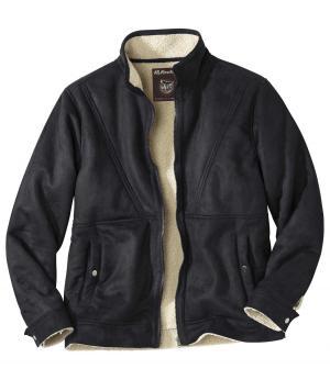 Замшевая Куртка AFM. Цвет: черныи