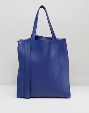 Claudia Canova Большая сумка-тоут без подкладки. Цвет: красный