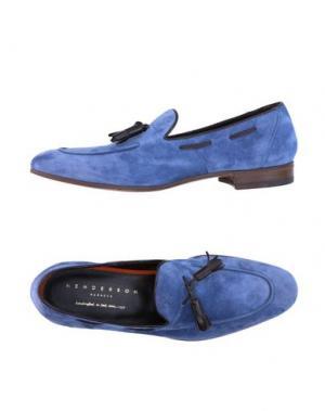 Мокасины HENDERSON BARACCO. Цвет: синий