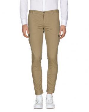 Повседневные брюки BASICON. Цвет: хаки