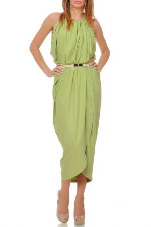 Платье Ki6 collection. Цвет: green