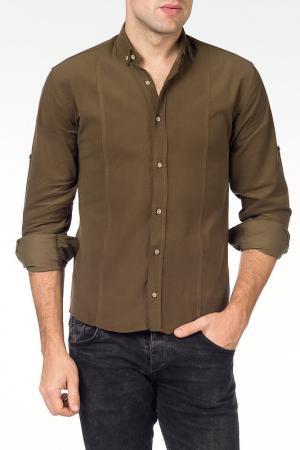 Рубашка Saint loren. Цвет: зеленый