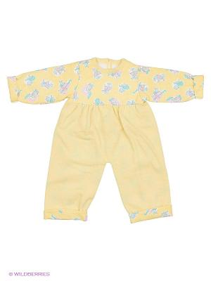 Комплект одежды Rinella. Цвет: желтый