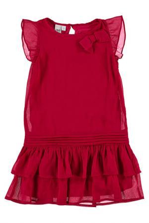 Платье IDO. Цвет: вишневый