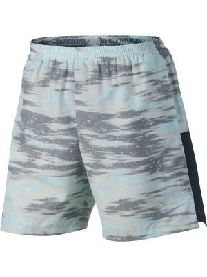 Шорты M NK DRY CHLLGR SHORT 7IN PR 2 Nike. Цвет: серый, голубой