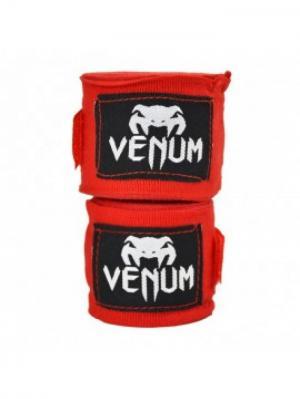 Бинты боксерские Venum Kontact Boxing Handwraps 4m - Red. Цвет: красный
