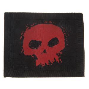 Кошелек  Zod Bi-fold Skull Zero. Цвет: черный