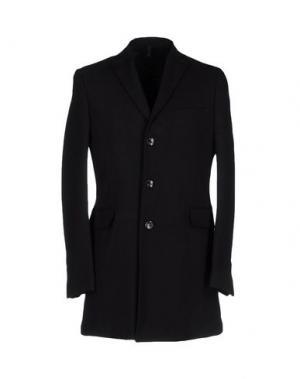 Пальто DOMENICO TAGLIENTE. Цвет: черный