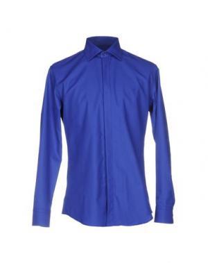 Pубашка HARRY & SONS. Цвет: синий