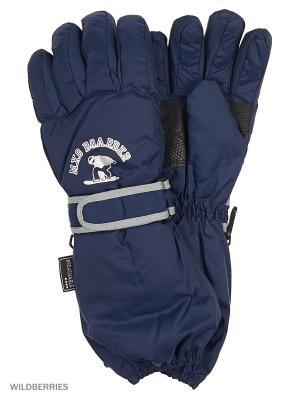 Перчатки MAXIMO. Цвет: темно-синий