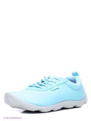 Кроссовки CROCS. Цвет: светло-голубой