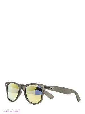Солнцезащитные очки Polaroid. Цвет: темно-серый