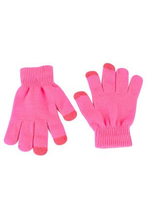 Перчатки для смартфонов Grezzo. Цвет: розовый