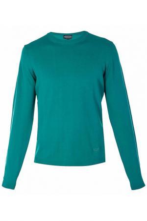Пуловер Emporio Armani. Цвет: зеленый