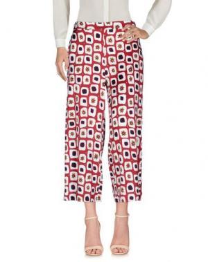Повседневные брюки MÊME by GIAB'S. Цвет: красно-коричневый