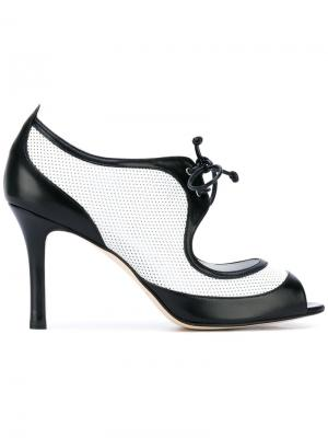 Туфли Barbato Antonio. Цвет: чёрный