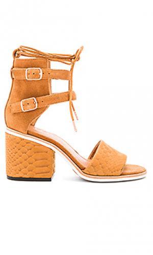 Обувь на каблуке true lover JAGGAR. Цвет: cognac