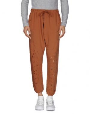 Повседневные брюки C.Y.H. CLAP YOUR HAND. Цвет: коричневый