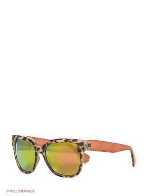 Солнцезащитные очки Vittorio Richi. Цвет: бежевый, золотистый