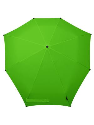 Зонт-автомат senz bright green. Цвет: зеленый