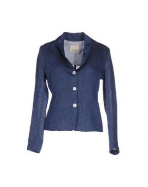 Пиджак NIU'. Цвет: синий