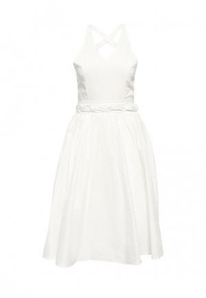 Платье Brigitte Bardot. Цвет: белый