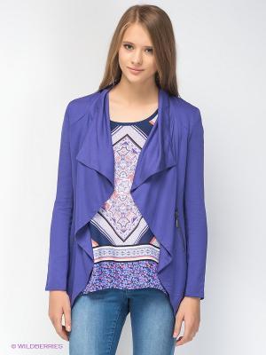 Кардиган Chelsea Drape Jacket-Blue Iris Jeanswest. Цвет: индиго