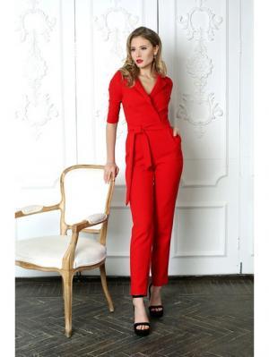 Комбинезон Fashion.Love.Story.. Цвет: красный