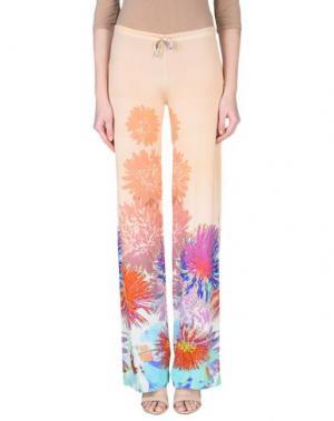 Повседневные брюки FRANCESCA FERRANTE. Цвет: абрикосовый