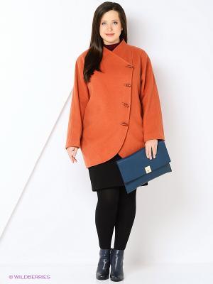 Пальто Gamelia. Цвет: оранжевый