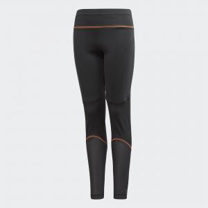 Леггинсы Training Knit  Performance adidas. Цвет: оранжевый