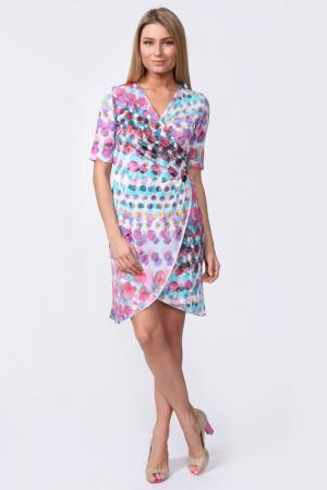 Платье Carla B. Цвет: голубой