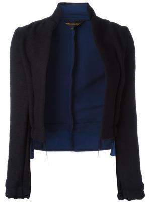 Асимметричный пиджак Comme Des Garçons Vintage. Цвет: синий