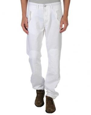 Повседневные брюки SEAL KAY INDEPENDENT. Цвет: белый