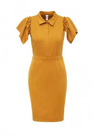 Платье Be In. Цвет: коричневый