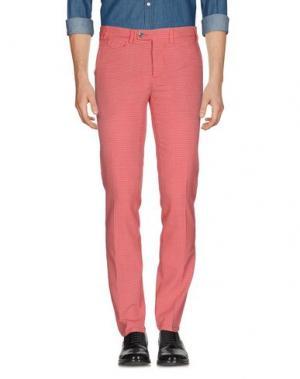 Повседневные брюки PIATTO. Цвет: красный