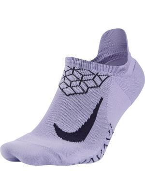 Носки U NK ELT CUSH NS Nike. Цвет: фиолетовый, черный