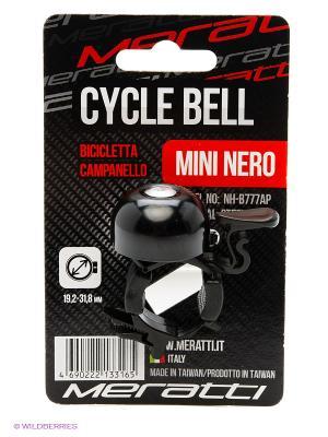 Велозвонок Meratti. Цвет: черный