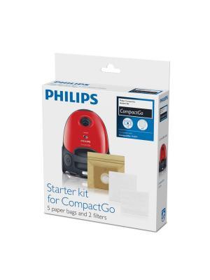 Мешки-пылесборники для пылесосов Philips. Цвет: белый