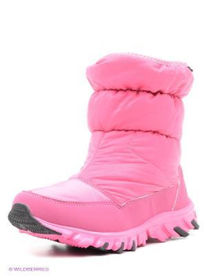 Полусапожки Patrol. Цвет: розовый