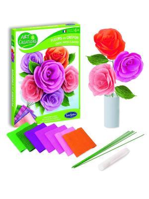 Набор для творчества Цветы серия Art&Creations SENTOSPHERE. Цвет: салатовый, белый