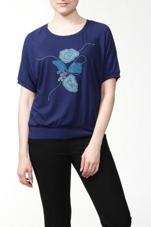 Блуза Ikiler. Цвет: темно-синий