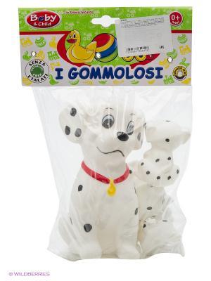 Семья далматинов, 4 шт. в пакете Globo. Цвет: белый, красный, черный