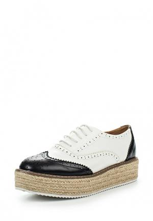 Ботинки My&My. Цвет: черно-белый