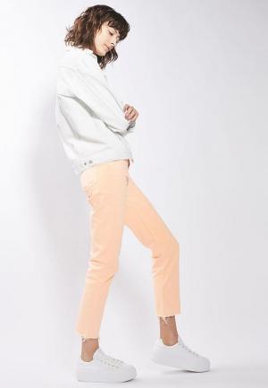 Куртка джинсовая Topshop. Цвет: белый