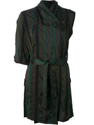 Куртка без рукавов Lost & Found Ria Dunn. Цвет: серый
