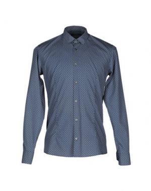 Pубашка DAVID NAMAN. Цвет: синий