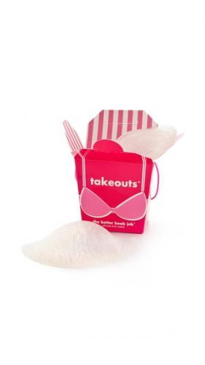 Takeouts — вставки для увеличения груди Commando. Цвет: голубой
